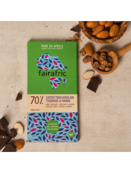 5er Box fairafric Bio Schokolade