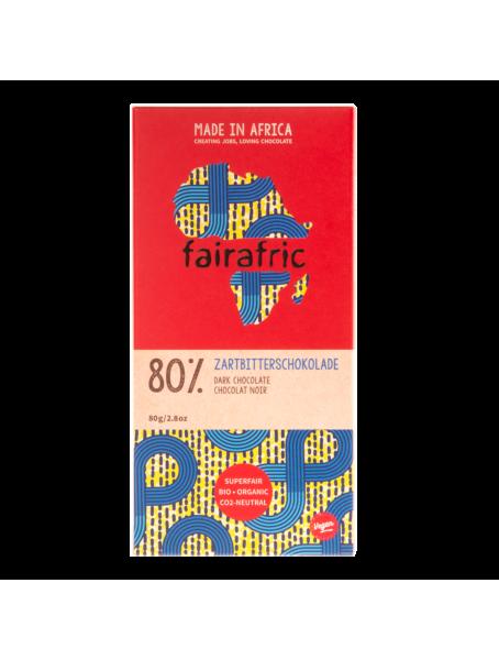 fairafric Zartbitterschokolade 80 %