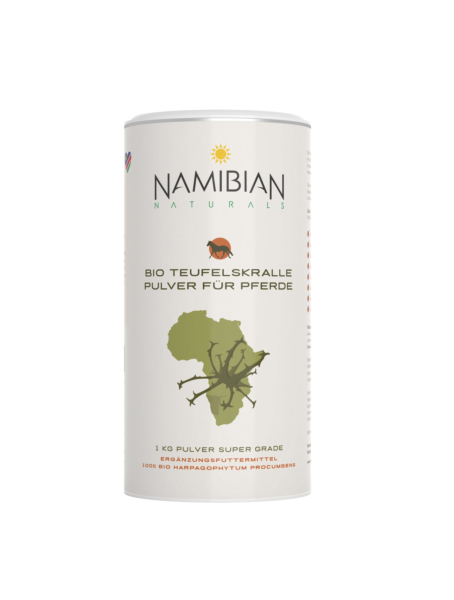 Namibian Naturals Teufelskralle Puler für Pferde