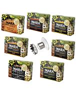 !Nara Seifen Probierset - alle 7 !Nara Seifen plus magnetischer Seifenhalter von Savont